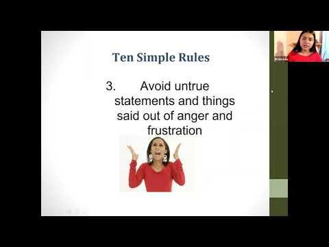 Positive Family Communication Presentation