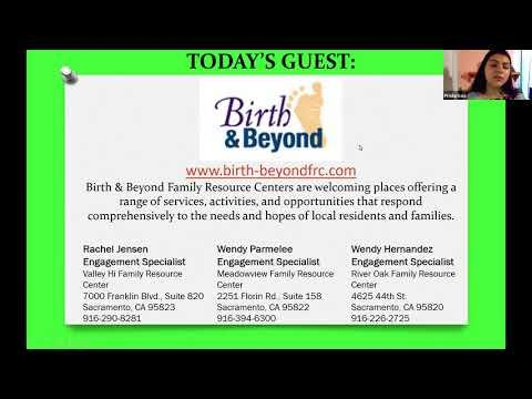 Virtual Parent Information Exchange Meeting featuring Birth and Beyond Family Resource Centers